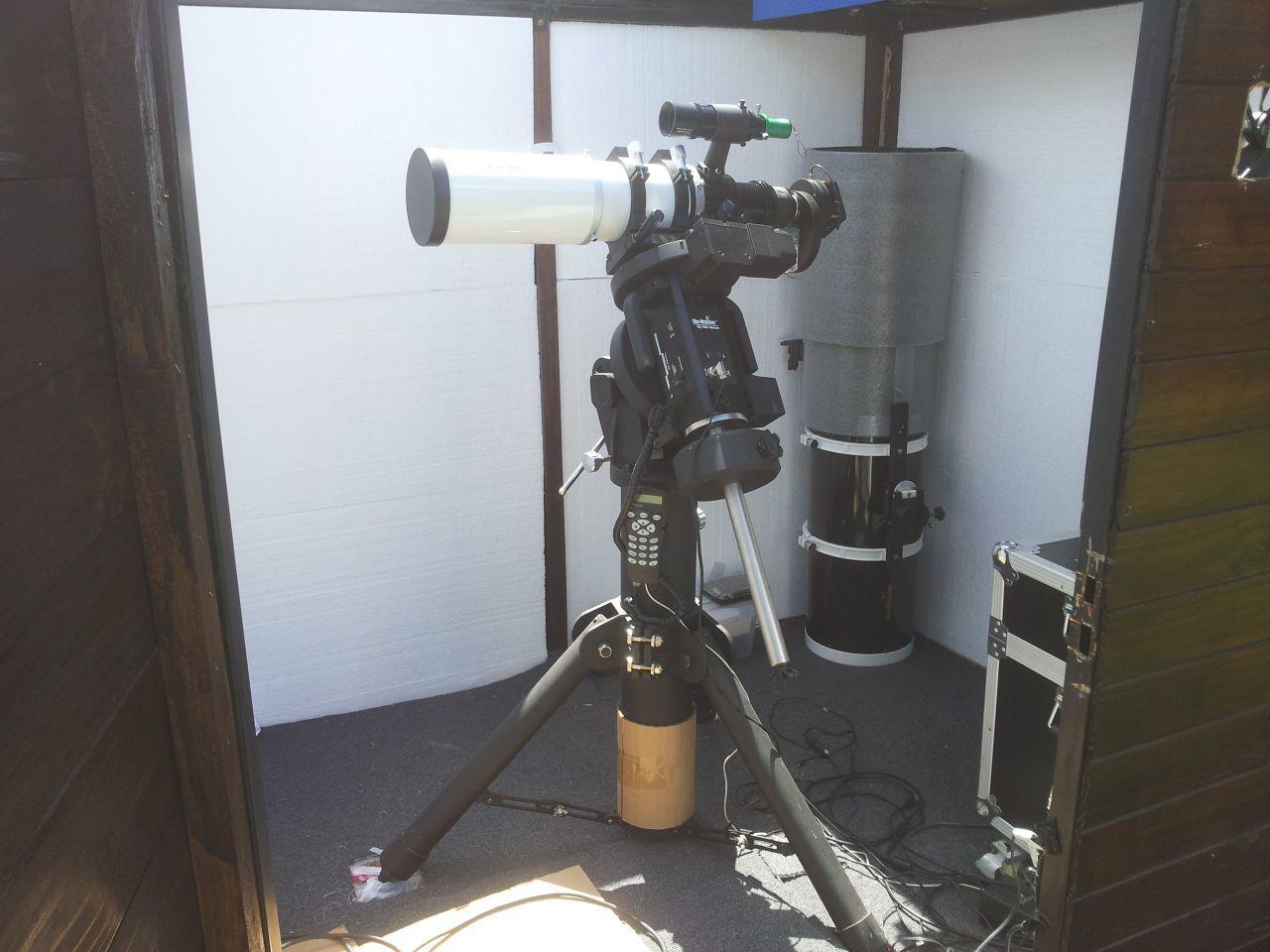 Esprit 100 mm super apo en EQ8