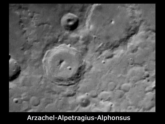 Arzachel - Alpetragius - Alphonsus
